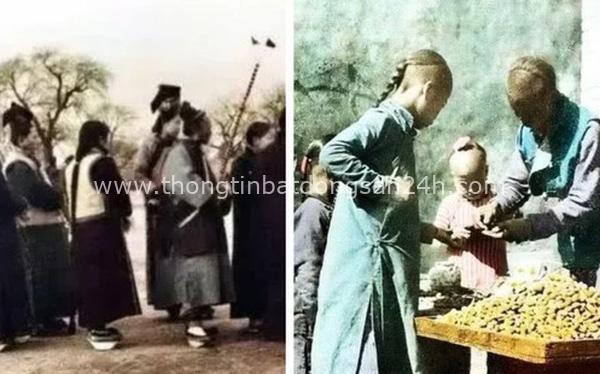 Ảnh hiếm tái hiện khung cảnh đón Tết cách đây hơn 100 năm về trước của người dân dưới thời Nhà Thanh 4