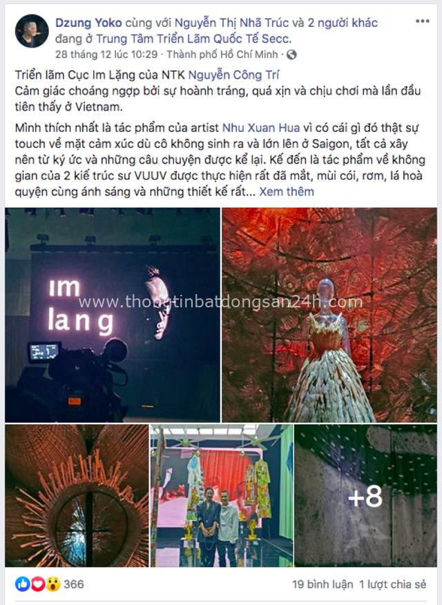 Cục Im Lặng và những dấu ấn vô tiền khoáng hậu của NTK Nguyễn Công Trí - Ảnh 14.