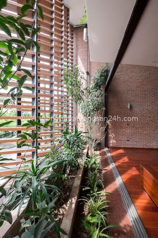 Độc đáo ngôi nhà 5 tầng biết thở ở Bắc Ninh - Ảnh 11.