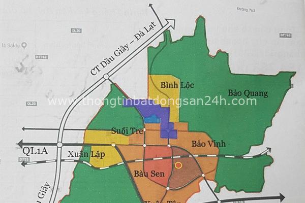 Đồng Nai nghiên cứu điều chỉnh tổng thể quy hoạch chung TP Long Khánh 5
