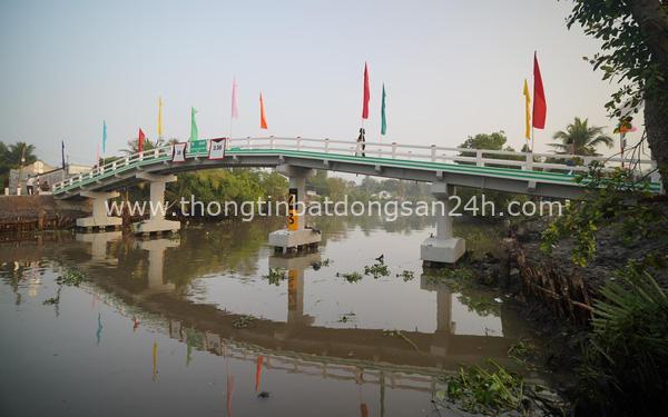 Dự án Xây cầu đến lớp khánh thành cây cầu đầu tiên 8