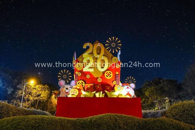 """Gia đình chuột vàng """"đổ bộ dự án Tây Sài Gòn dịp Tết 2020 - Ảnh 1."""