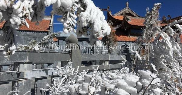 Mùng 3 tết băng tuyết phủ khắp nơi, Fansipan đẹp tựa châu Âu 7