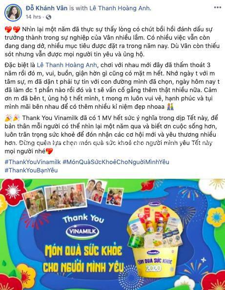 """MV Tết """"Thank you Vinamilk"""": Thông điệp ý nghĩa về món quà sức khỏe - Ảnh 1."""