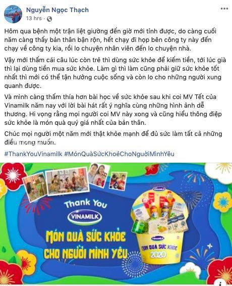 """MV Tết """"Thank you Vinamilk"""": Thông điệp ý nghĩa về món quà sức khỏe - Ảnh 2."""