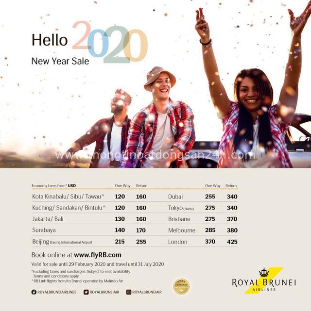 Năm mới, thoả thích bay, đi mê say cùng Royal Brunei Airlines - Ảnh 1.