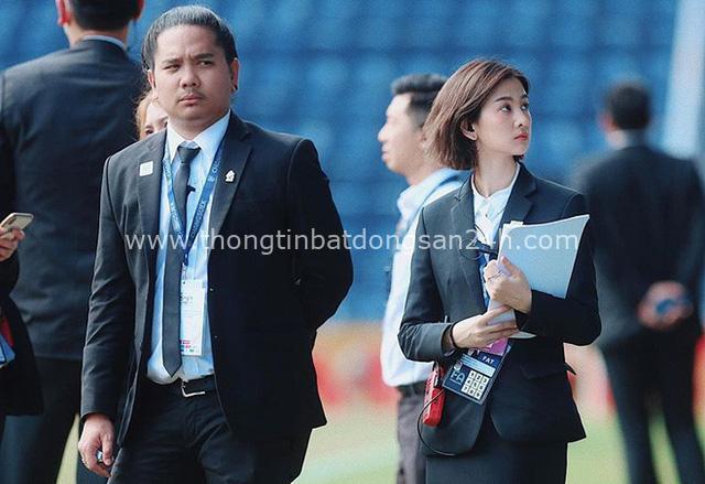 Nữ dẫn đoàn hiếm có khó tìm của U23 Việt Nam tại giải châu Á: Nhan sắc nữ thần, hotgirl trên Instagram - Ảnh 3.