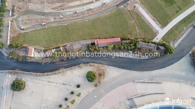 Toàn cảnh đường đua F1 tại Hà Nội từ trên cao, đang trong quá trình hoàn thiện - Ảnh 12.