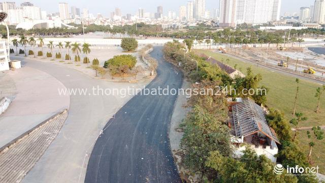 Toàn cảnh đường đua F1 tại Hà Nội từ trên cao, đang trong quá trình hoàn thiện - Ảnh 13.