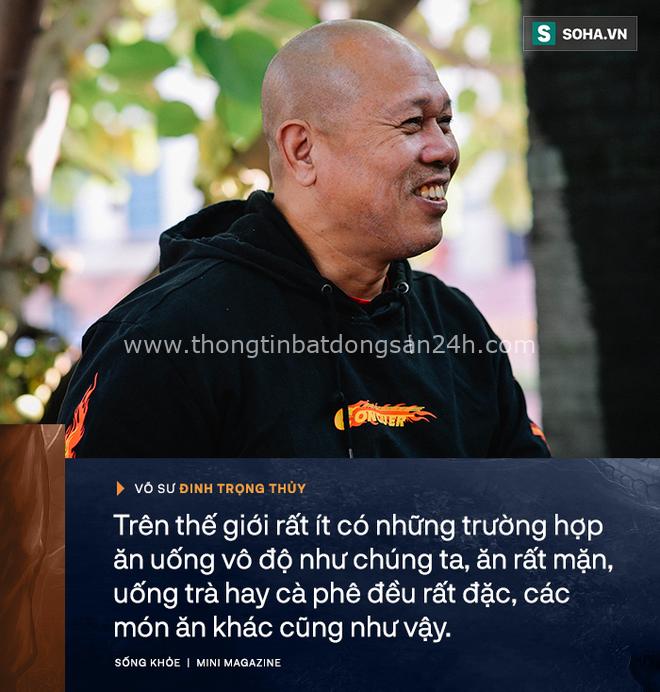 Võ sư Đinh Trọng Thủy: Tây hay TQ ăn nhậu không như mình - từ Hà Nội đến Hà Giang đều một kiểu thật lạ lùng - Ảnh 11.