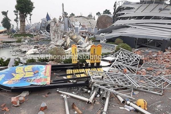 Chủ tịch Hà Nội yêu cầu thanh tra việc cưỡng chế phá dỡ công viên nước Thanh Hà 13