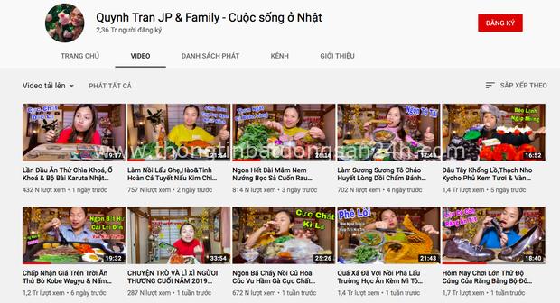 """Dân tình lo lắng khi thấy Quỳnh Trần JP ngừng đăng vlog, buồn bã tâm sự: """"Xin chào bạn nhé, Youtube ơi"""" - Ảnh 1."""