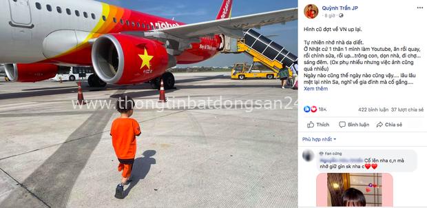 """Dân tình lo lắng khi thấy Quỳnh Trần JP ngừng đăng vlog, buồn bã tâm sự: """"Xin chào bạn nhé, Youtube ơi"""" - Ảnh 2."""