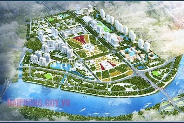 Gần 9.300 tỷ đồng làm giai đoạn 1 dự án khu đô thị mới Bắc Sông Cấm, Hải Phòng 5