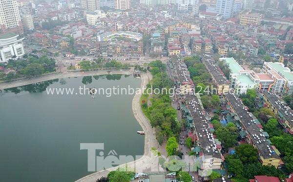 Hà Nội khẳng định không lấp hồ Thành Công để xây chung cư 8