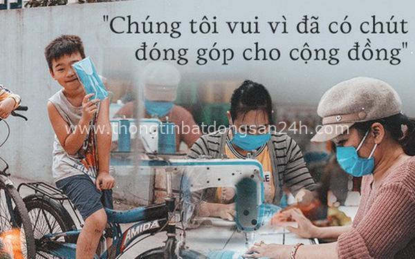 Một phụ huynh ở Hà Nội bỏ hơn 200 triệu may 40.000 khẩu trang phát miễn phí cho bà con và những điều tử tế tiếp nối 8