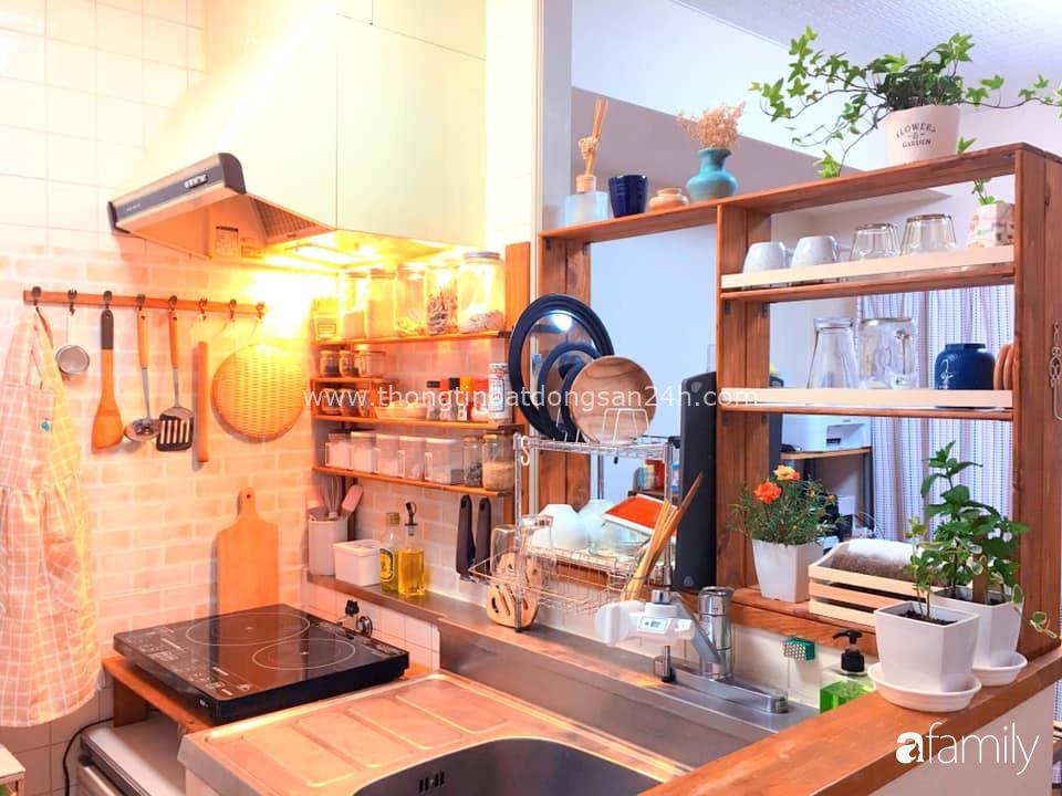 Nàng dâu Việt ở Nhật tự tay cải tạo và trang trí căn hộ đi thuê đẹp tới nỗi chị em mắt tròn mắt dẹt thán phục 2