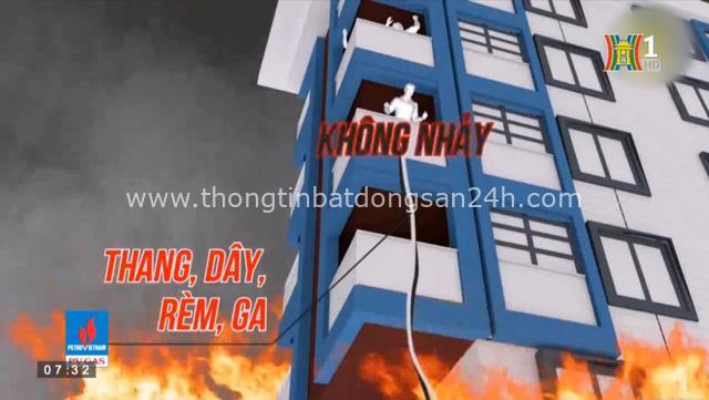 """""""An toàn phòng cháy, chữa cháy"""" hướng dẫn thoát hiểm khi có hỏa hoạn - Ảnh 1."""