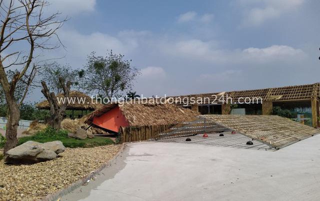 Cưỡng chế sân tập golf khủng mọc trên đất dự án ở Hà Nội - Ảnh 2.
