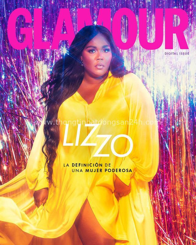 Lizzo diện trang phục Công Trí, thần thái rực rỡ, nổi bật trên trang bìa tạp chí Glamour - Ảnh 4.