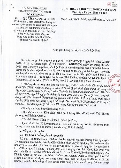 The Metropole Thu Thiem đủ điều kiện ký hợp đồng mua bán 456 căn hộ 2