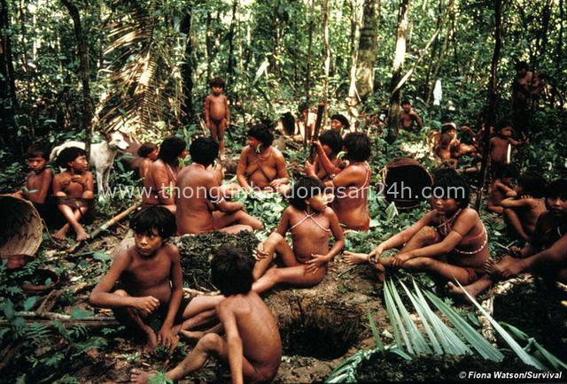 Bộ lạc kỳ dị ở Nam Mỹ: Cuộc sống khép kín và hủ tục mai táng bằng cách ăn tro cốt của người chết - Ảnh 2.
