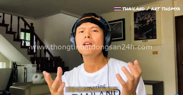 Gửi gắm thông điệp lạc quan chống dịch, vlogger Chan La Cà hoà giọng We are unity cùng bạn bè trong khối ASEAN - Ảnh 3.