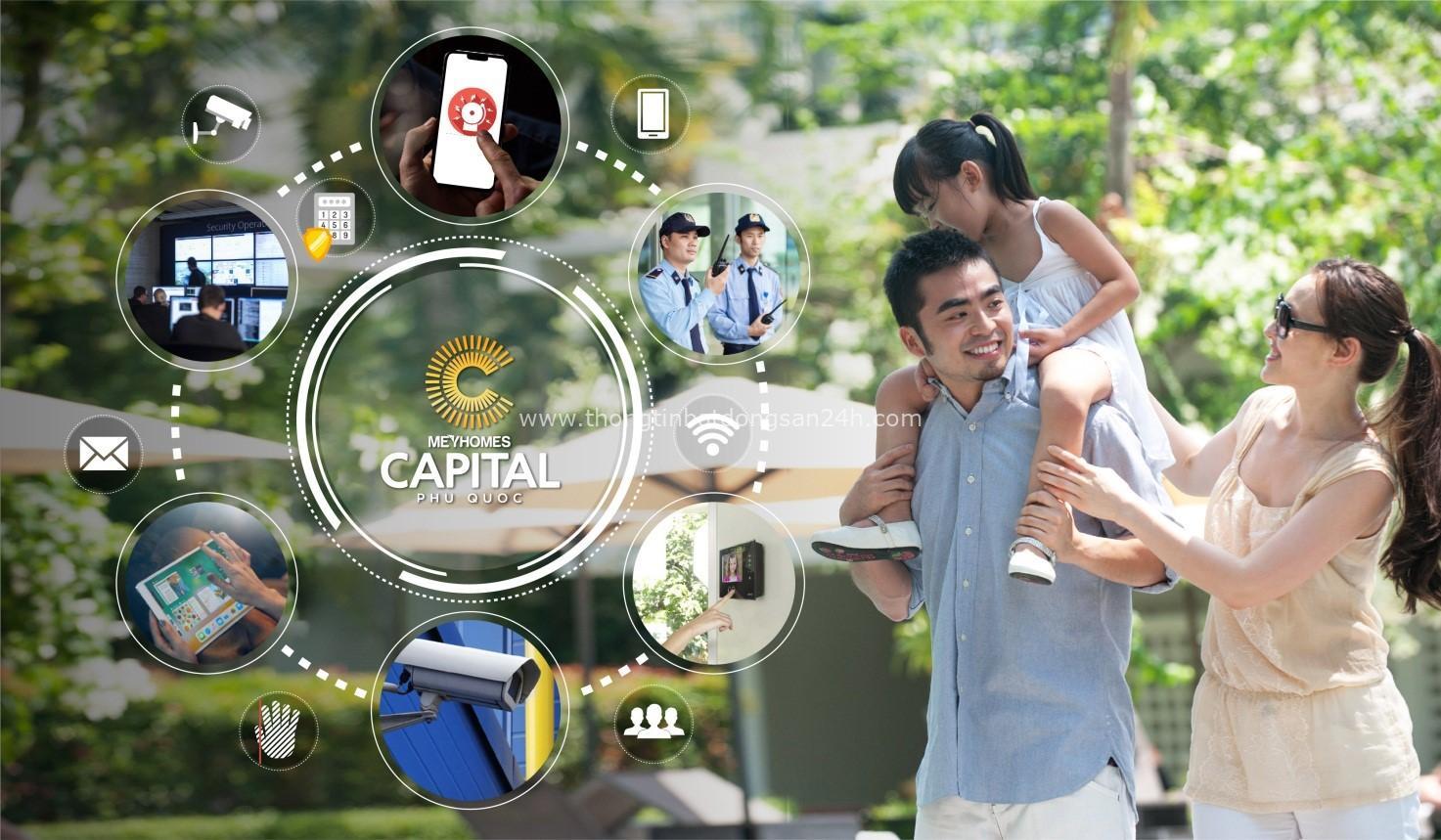 Hé lộ ban đầu về tính năng thông minh tại Meyhomes Capital Phú Quốc 1