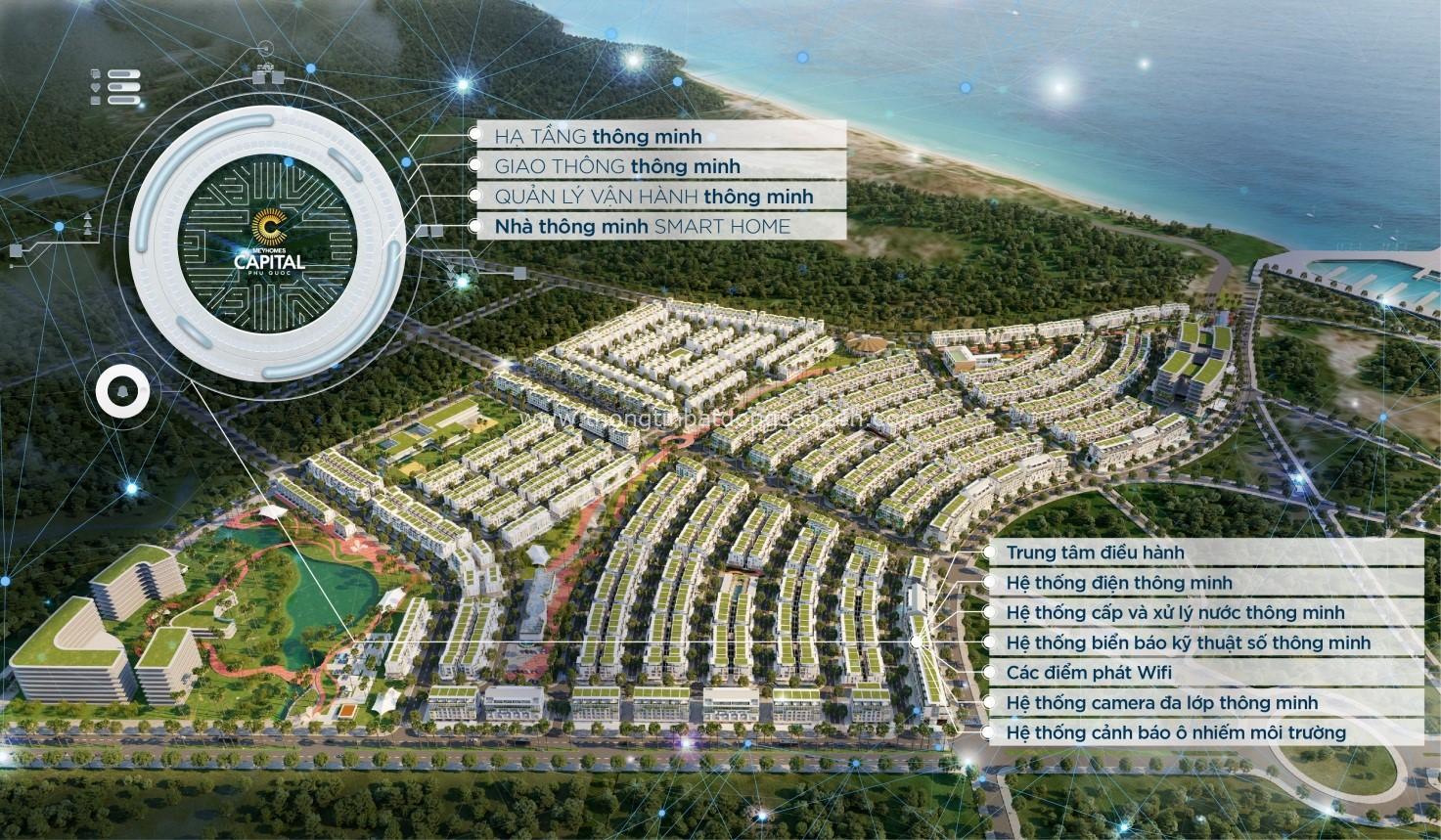 Hé lộ ban đầu về tính năng thông minh tại Meyhomes Capital Phú Quốc 2