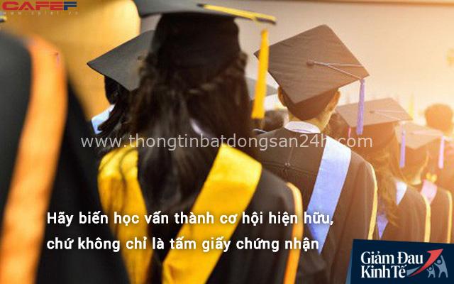 Học chỉ vì bằng cấp, bạn sẽ mãi là kẻ thất bại: Người thành công học nhiều hay ít đều nắm được những điều cốt lõi này - Ảnh 1.