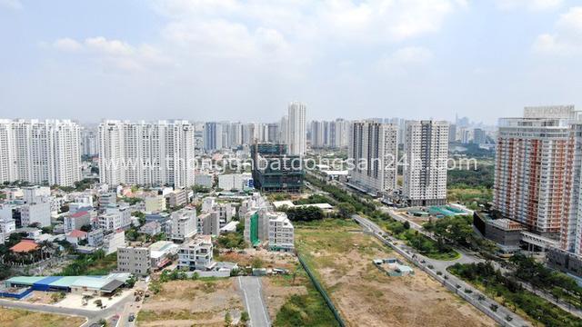 Ken đặc chung cư trên con đường ngoại ô Sài Gòn nhìn từ trên cao - Ảnh 14.
