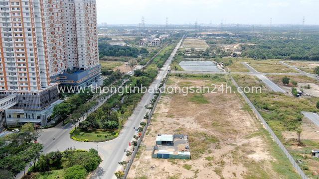 Ken đặc chung cư trên con đường ngoại ô Sài Gòn nhìn từ trên cao - Ảnh 17.