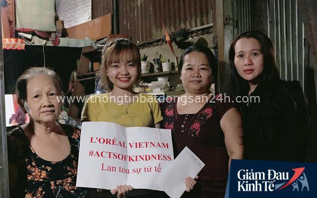 L'ORÉAL Việt Nam hỗ trợ khẩn cấp cho 54 gia đình học viên khó khăn do đại dịch Covid-19 - Ảnh 1.