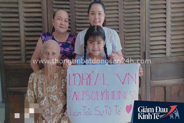 L'ORÉAL Việt Nam hỗ trợ khẩn cấp cho 54 gia đình học viên khó khăn do đại dịch Covid-19 - Ảnh 2.