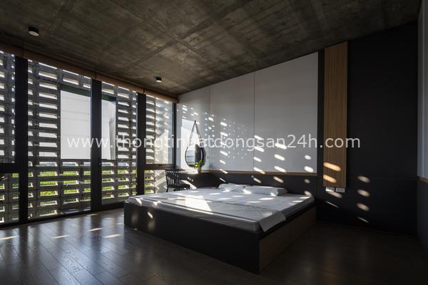 Ngôi nhà 'nghìn lỗ', phòng ngủ nhìn ra đồng ruộng tươi tốt ở Hưng Yên 9