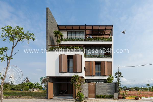 Căn biệt thự 4 tầng, rộng mênh mông ở Đà Nẵng 5