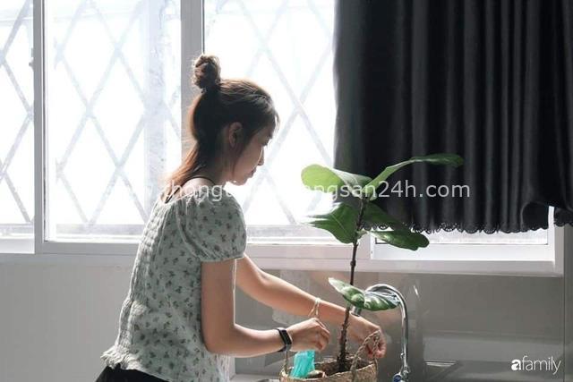 Chi 20 triệu đồng, sân thượng tầng 4 của cô gái trẻ trở thành không gian sống tiện ích, nhiều ánh sáng tự nhiên ở quận 1, Sài Gòn - Ảnh 15.