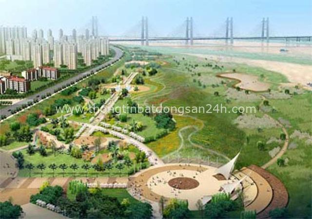 Hà Nội chưa hoàn thành quy hoạch hai bên sông Hồng 1