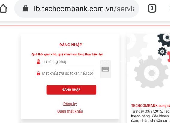 Hệ thống ngân hàng điện tử của Techcombank đã khôi phục, nhưng do giao dịch đông quá nên tiếp tục bị...sập - Ảnh 1.
