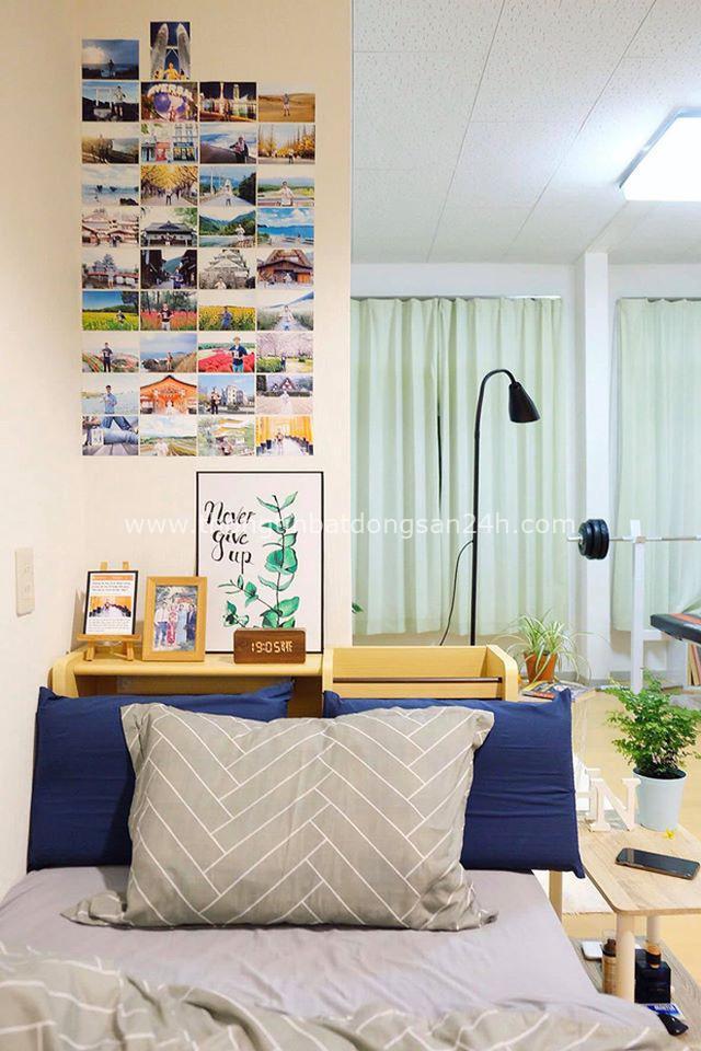 Nam du học sinh Nhật tự tay cải tạo phòng trọ xịn sò như homestay chính hiệu, nhưng xúc động nhất là nơi lưu giữ di ảnh của ba má - Ảnh 4.