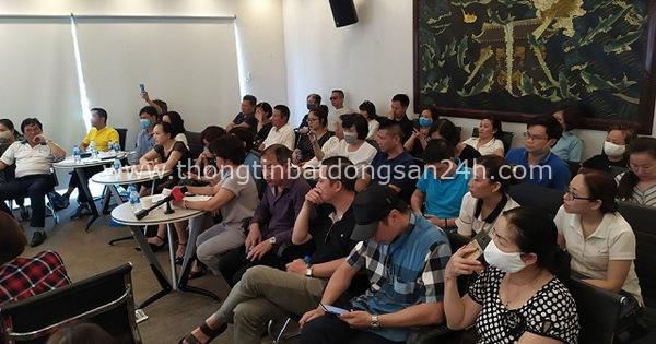 Nhà đầu tư Cocobay Đà Nẵng khóc trong buổi đối thoại với Thành Đô và SHB 2