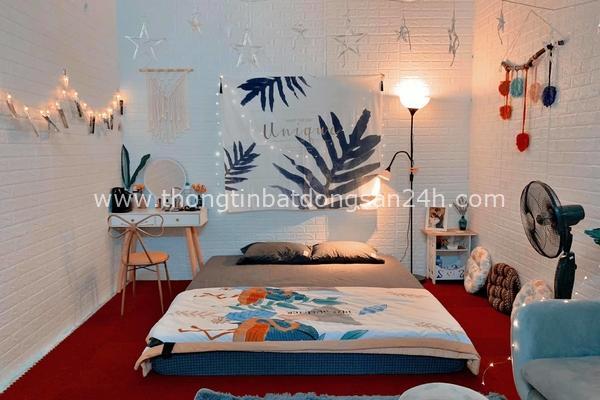 Phòng 18 m2 ở Hà Nội được cải tạo như homestay với chi phí chưa tới 10 triệu đồng 4