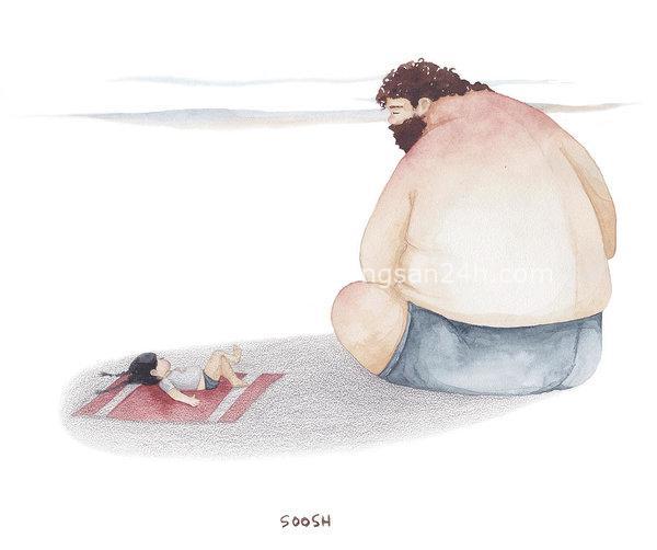 Tâm thư cha gửi con làm nhiều người rơi nước mắt: Con gái, kết hôn không bao giờ có hạn chót. Đừng quá hà khắc với bản thân mình! - Ảnh 2.