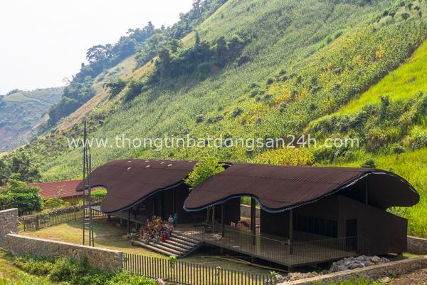 Trường mầm non giữa núi rừng Sơn La gây sốt với kiến trúc độc đáo 6