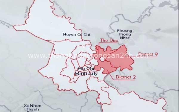 """Vì sao đề xuất Thành phố phía Đông TP.HCM liên tục bị """"vướng""""? 1"""