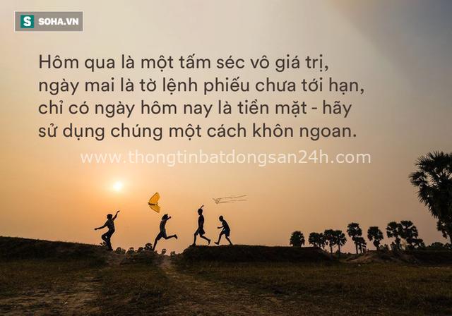 1 đời người chỉ gói trọn trong 3 ngày, ai cũng nên biết để không lãng phí thời gian quý báu - Ảnh 1.