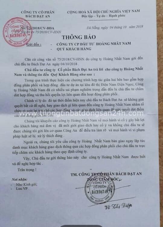 Bách Đạt An thua kiện: Gần 600 khách hàng nuôi hy vọng được nhận đất, sổ đỏ 2