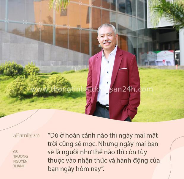 Bài diễn văn tốt nghiệp gây sốt với triết lý sâu sắc của GS Trương Nguyện Thành gửi sinh viên: Dù hoàn cảnh nào thì ngày mai mặt trời cũng sẽ mọc - Ảnh 4.