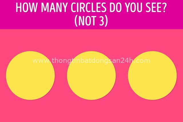Bạn hẳn rất lanh lợi khi nhận ra ảnh này không phải chỉ có 3 đường tròn! - Ảnh 1.