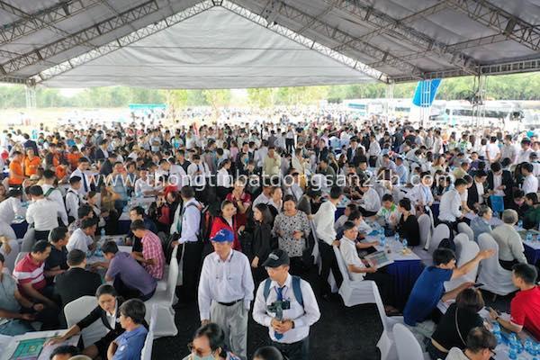 """Bất động sản Long Thành """"dậy sóng"""": Hơn 1.500 khách đến tham quan dự án Gem Sky World 1"""